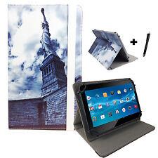 Tablet Hülle - Odys Ieos Next 10 bookcase Tasche 10,1 Zoll - New York Freiheits