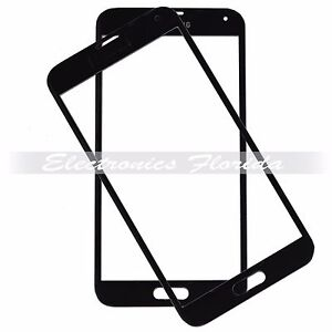 Black Screen Glass Lens Replacement for Samsung Galaxy S5 b502