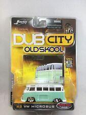 Jada Toys Dub City Old Skool '62 VW Bus Light Green/White 2005 Wave 1