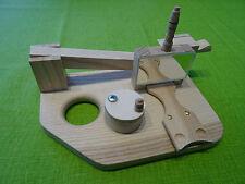 Schnupfmaschine aus Esche, Handarbeit