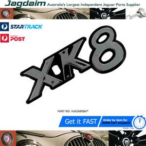 New Jaguar XK8 1996 TO 2002 Rear Rh Chrome Boot / Trunk Badge HJA5980BA