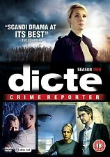 DICTE SERIES 2 (2018) Region 2 PAL DVDs only!