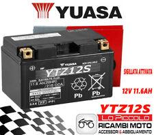 BATTERIA YUASA YTZ12S SIGILLATA PER HONDA XL V TRANSALP 650 2000 2001 2002 2003