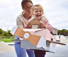 Mister Tody Pink Cardboard Airplane Costume