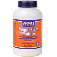 Magnesium Malate 180 Tabs 1000 mg by Now Foods
