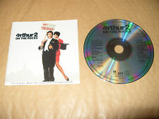 Arthur 2 On The Rocks Soundtrack cd 10 tracks 1988 Rare cd Excellent condition
