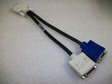 DVI to VGA Split Cable  DVI Cable Dual Monitor Cable for Video Card
