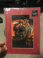 Maximo Vs Army of Zin Capcom Limited Collector's Edition Laser Art Cel! Rare!!