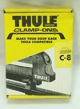 Thule C8 Clamp-Ons, Connect Thule Ski Carriers to Factory Installed Racks NIB