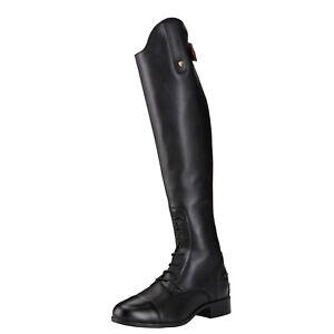 Ariat Heritage Contour II Tall Field Zip Boots Black -  Ladies - Choose Size