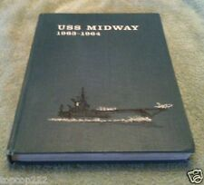 1963-1964 USS MIDWAY CV-41 U.S NAVY ORIGINAL CRUISE BOOK.