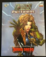 d20 System - Judge Dredd RPG - The Rookie's Guide to Psi-Talent