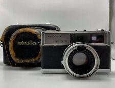 Minolta Hi-Matic 9 35mm Rangefinder Camera with Easy Flash Function & Case
