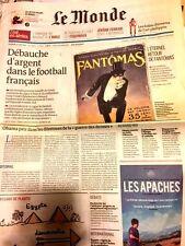 Le MONDE n°21323 du 9/8/2013**ARGENT foot Fr*Maison retraite AMOUR & SEXE**HUILE