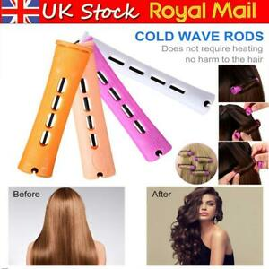 10/40Pcs Pieces Plastic Hair Perm Rods Long Variety Perm Rod Hair Curling Roller