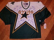 STARS vintage team signed jersey MODANO TURCO RICHARDS NEAL BENN LARGE 5