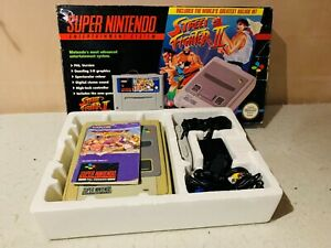 SNES Street Fighter 2 Edition Boxed