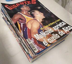 Colección de 58 revistas ''Gigantes del Basket'' (1994-1997) - NBA