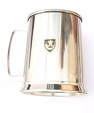 British Rifles Regiment Army Stainless Steel One Pint Beer Tankard Mug BKG54