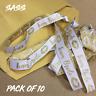 Hen Party Favour Wristbands - Team Bride - Pack of 10 White & Gold Wristbands
