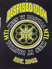 Despised Icon MTL Black Small T-shirt Keep It Brutal Gothic Punk Rock