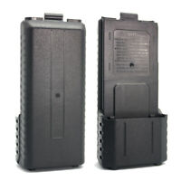 6X AA 5R Two Way Radio Battery Box Extended Shell Case for Icom Walkie Talkie