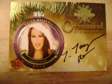 2019 Benchwarmer Holiday Archive Tabitha Taylor AUTO RED Ser# 1/1 PLAYMATE