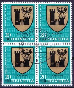 Switzerland 1978 MNH Used, Pro Juventute Municipality coat of arms