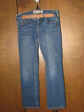 "WOMENS JUNIORS HOLLISTER SKINNY LOW RISE STRETCH JEANS SIZE 3  27""W x 26""I"
