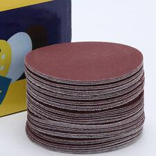 10x 4 inch/100mm Sanding Disc Grit Polishing Sander Pads Sandpaper 120 Grits