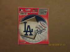 MLB Los Angeles Dodgers Vintage Circa 2010 Team Logo Baseball Round Decal