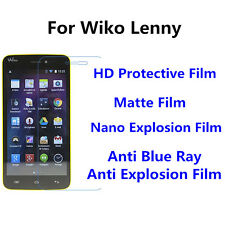 3pcs For Wiko Lenny High Clear/Nano Explosion/Anti Blue Ray Screen Protector