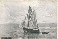 PC38066 Barque de Peche. Aqua. B. Hopkins