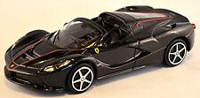 Ferrari LaFerrari APERTA 2016 NEGRO Negro Metálico 1:43 Bburago