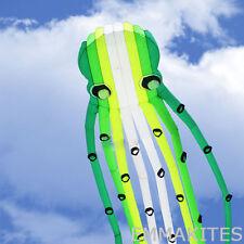 Giant 75ft 3D Tube Shaped Parafoil Octopus Kite Single Line Power Kite for Adult