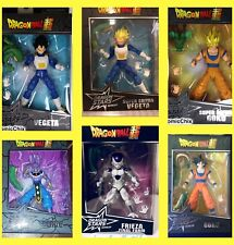 DRAGON BALL SUPER STARS Dragon. SERIES 1 &SERIES 2. ALL 6 CHARACTERS. BRAND NEW