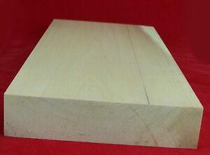 1 Stück Lindenholz unbehandelt zum Schnitzen oder drechseln 4,7x20x40 cm
