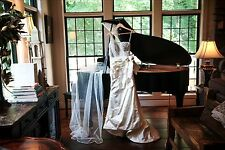 Priscilla of Boston 4707 One Shoulder Wedding Dress
