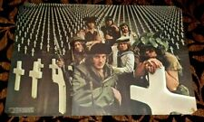 CHICAGO 1970 ARLINGTON CEMETERY ICONIC POSTER