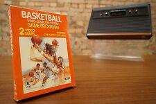 Atari 2600 Game Basketball - Boxed / Original Box - Game/Games - Top Condition