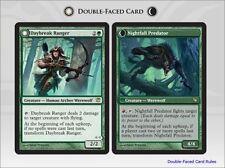 Innistrad ~ DAYBREAK RANGER / NIGHTFALL PREDATOR rare Magic the Gathering card