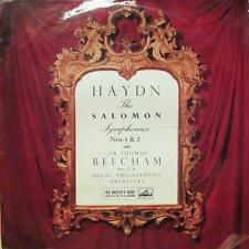 Haydn(Vinyl LP)The Soloman Symphonies No's 1 & 2-HMV-ALP 1624-UK-VG/Ex