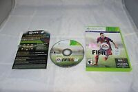 FIFA 15 Soccer Game MINT DISC Xbox 360 Complete CIB VERY Fast Ship World!