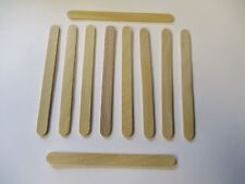 Silicone Easy Cream Wooden Sticks for Ice Cream Bars Set of 100