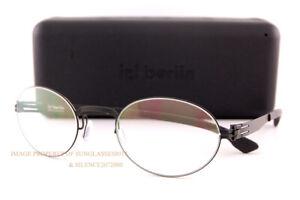 Brand New ic! berlin Eyeglass Frames Junhee J. Black For Men Women