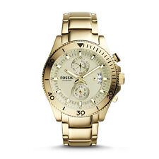 Fossil CH2974 Wakefield Chronograph Gold-Tone Stainless Steel Watch