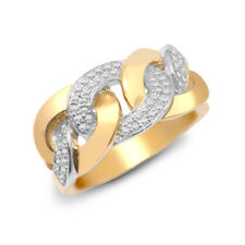 Yellow Yellow Gold Fine Diamond Rings