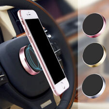 360° Magnetic Car Metal Mount GPS Holder Stand Cradle for Mobile Smartphone