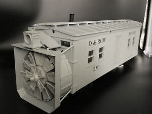 USA Trains D&RGW Rotary Snow Plow R-2100 with sound (R2100s) G Scale