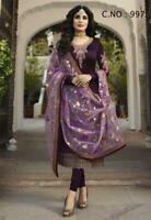 Indian Designer Anarkali Salwar Kameez Pakistani Dress Party Bollywood Suit Gown